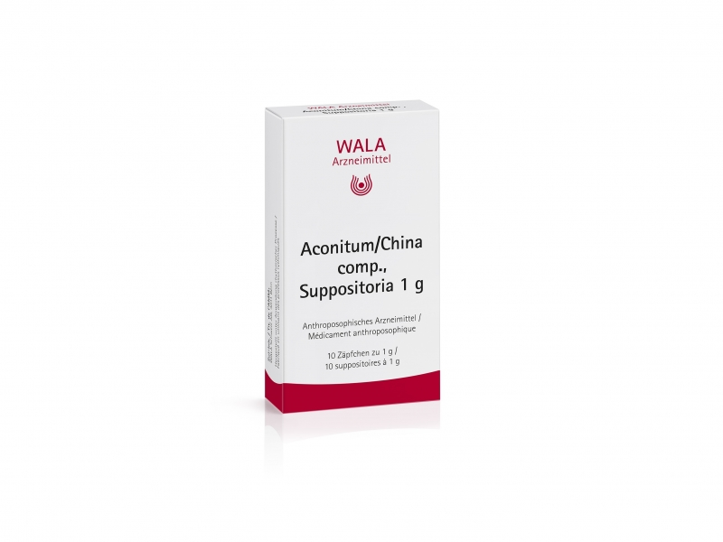 WALA aconitum/china comp supp 1g 10 pce