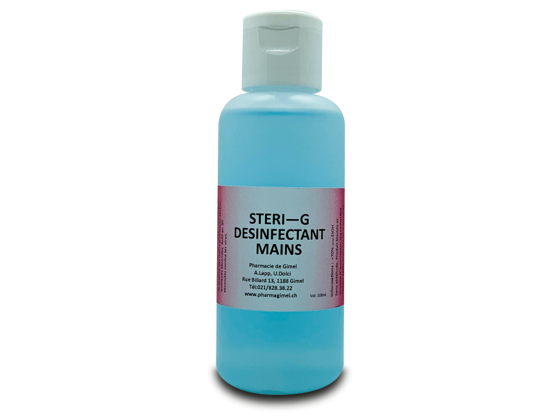 STERI-G Desinfectant mains 100ml