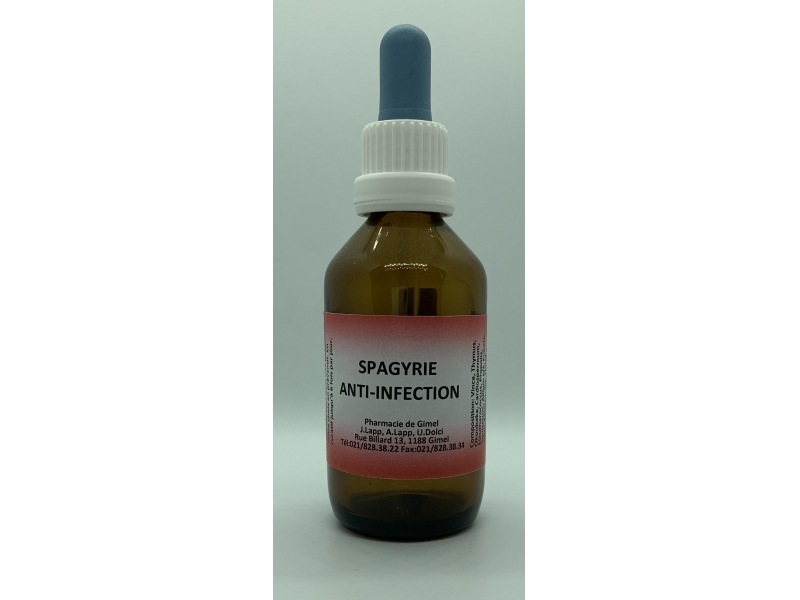 Spagyrie Anti-infection 50 ml gouttes