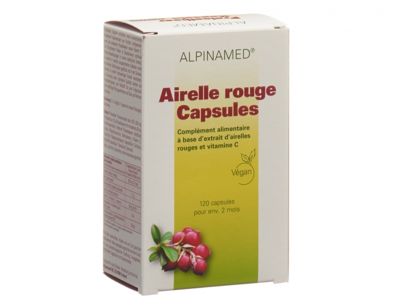 ALPINAMED Airelle Rouge Capsules 120 Pièces